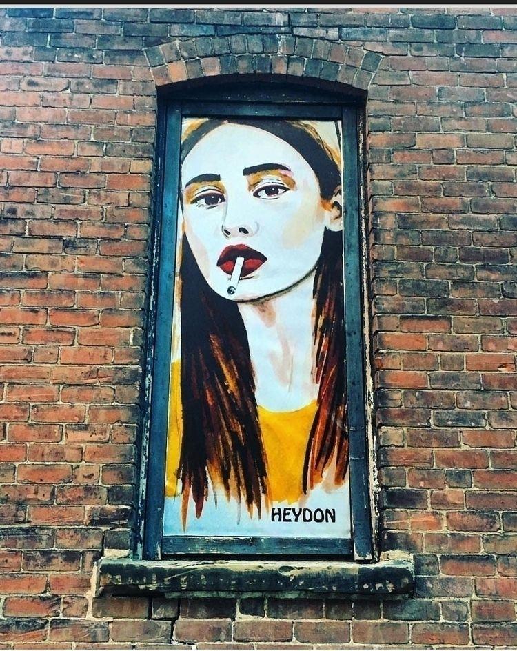 elloart, streetart, heydon - heydon | ello