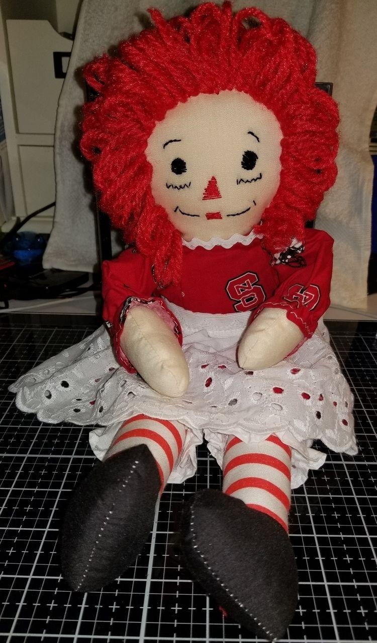 'Raggedy Ann 15 Handmade Doll - fabpatterns1015 - sharpharmade | ello