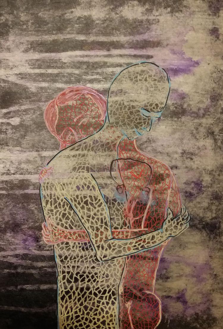 STRUCTURAL LOVE Acrylic marker  - tmarcoantonio | ello