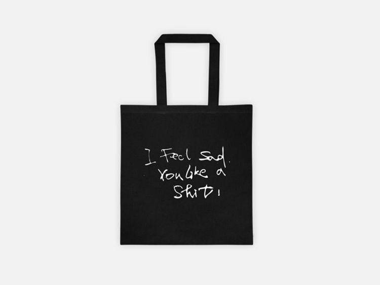【 feel Sad, Shit !】Tote bag. 【B - ohgoodgoods | ello