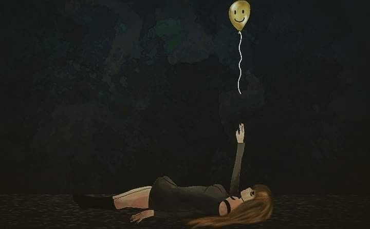 reach  - depression, balloon, happy - halrai | ello
