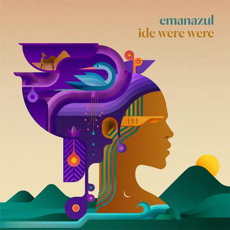 Cover design Emanazul single Id - fabioissao | ello