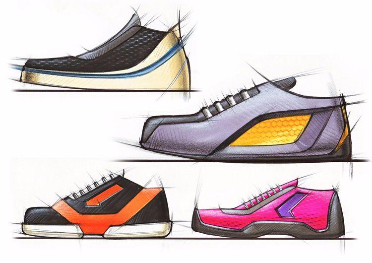 Footwear sketch exploration. sk - jamesowendesign | ello