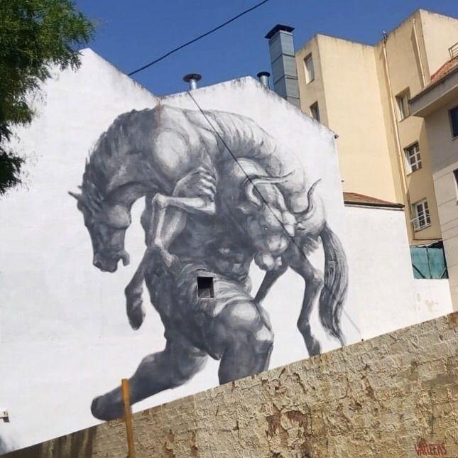 Fight - Madrid, streetart, street - antoniofse | ello
