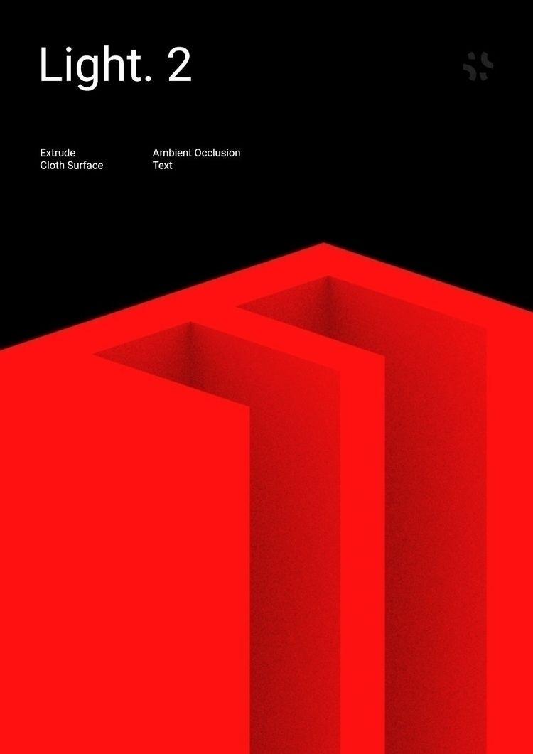 Poster Light. 2 - poster, noise - dmitrykovalev | ello