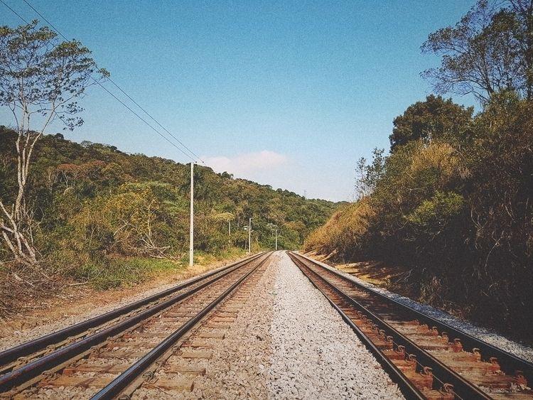 Lines - lines, sky, train, landscape - felipehelfstein   ello