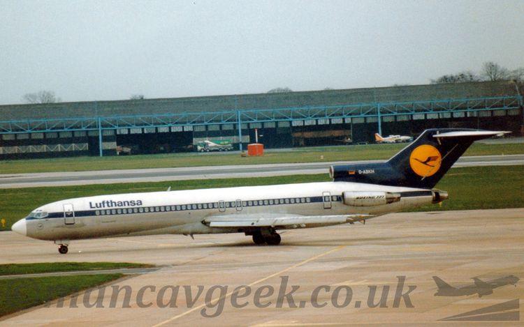 Boeing 727-200, Lufthansa, taxi - mancavgeek   ello