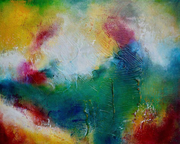 Original oil painting titled Vo - createdbychrista | ello