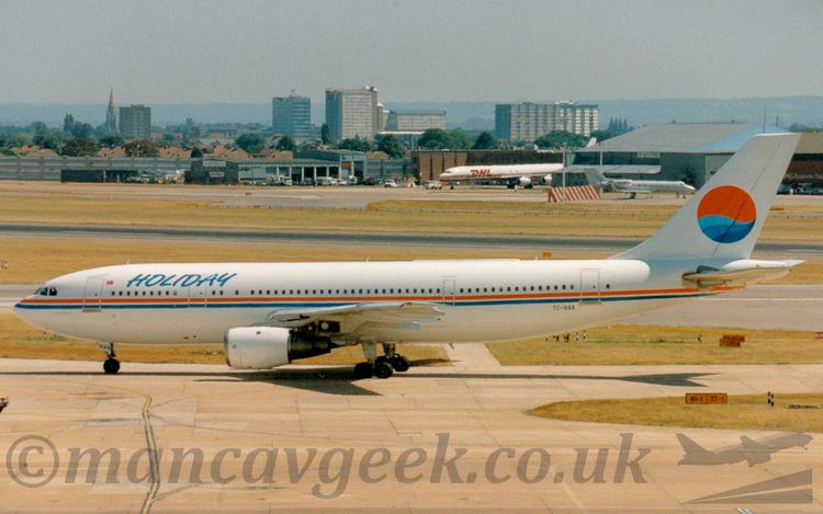 TC-RAA, Airbus A300B4, Holiday  - mancavgeek   ello