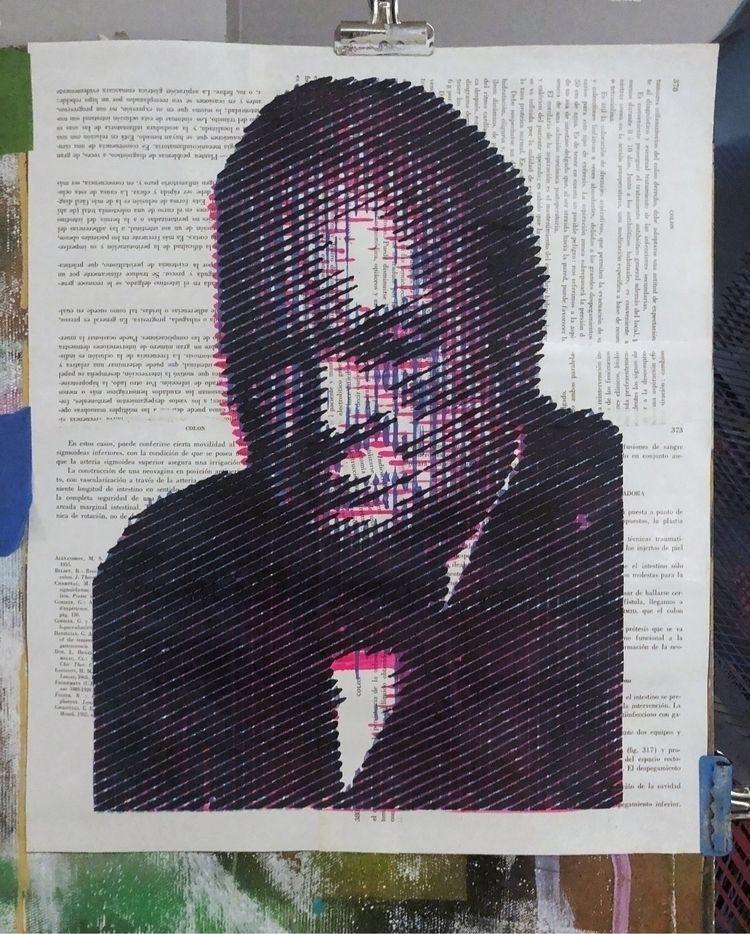 """Churchill"" . gallery link bio  - cicerospin   ello"