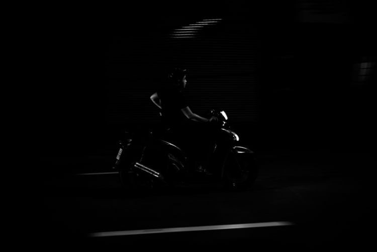 Speed Demon. Hanoi, Vietnam - motorbike - tm_l | ello