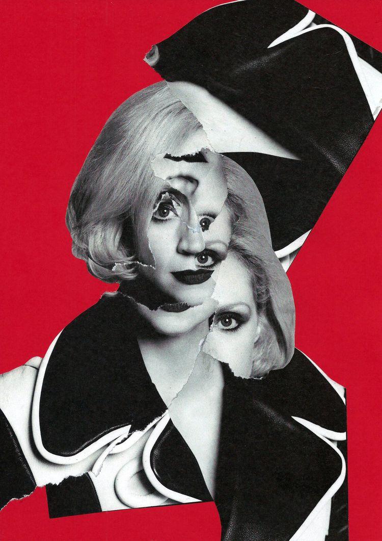 Gwendoline Christie - collage, popart - graemejukes   ello