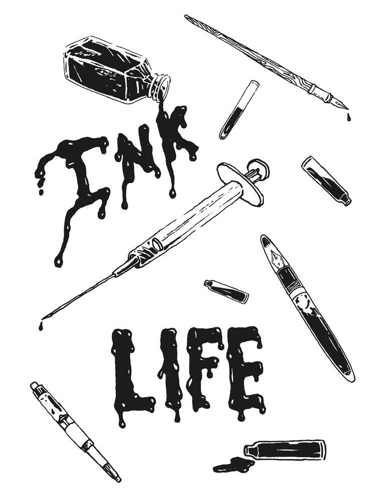 Livin ink life. fun illustratio - bryanbaltz | ello