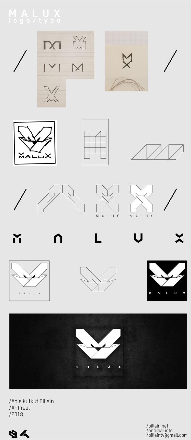 ID / Logotype Malux - billain | ello