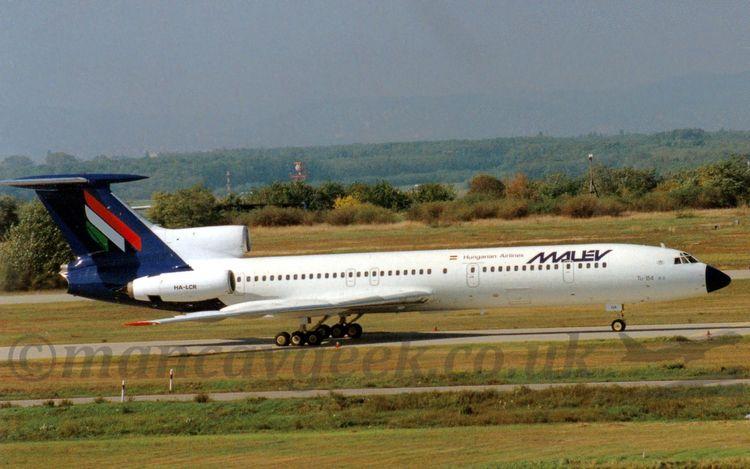 22 years HA-LCR, Tupolev Tu154B - mancavgeek | ello