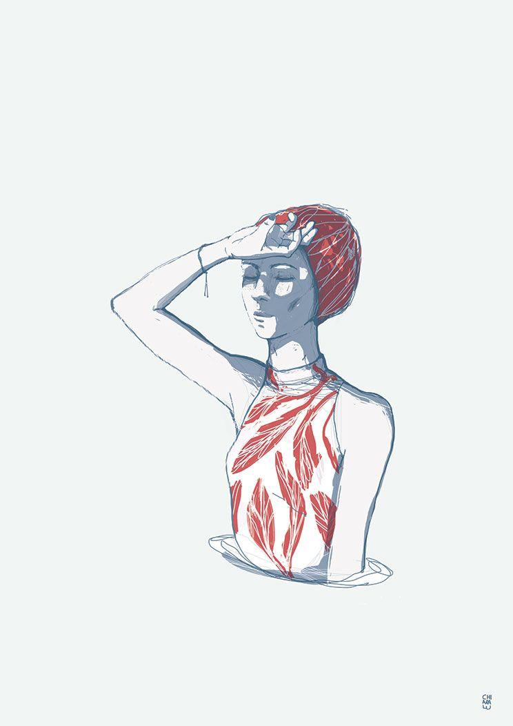 summer - illo. Chiaralu - digitalillustration - chiaralu | ello