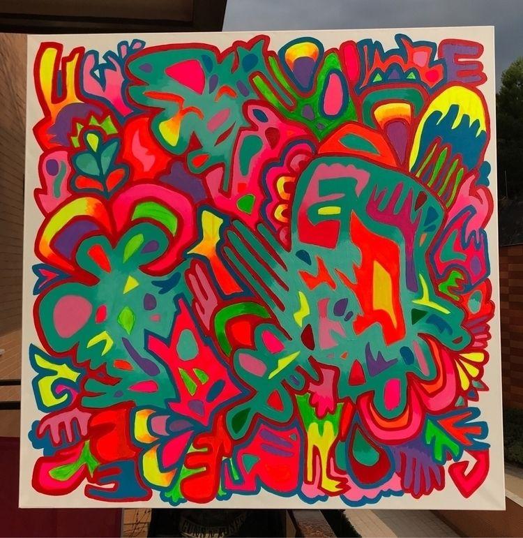latest painting - art, fluor, arte - elenareyna | ello
