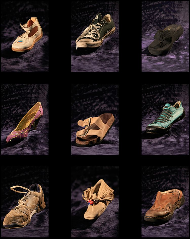 """lot person shoes wearing."""", quo - dpetree 
