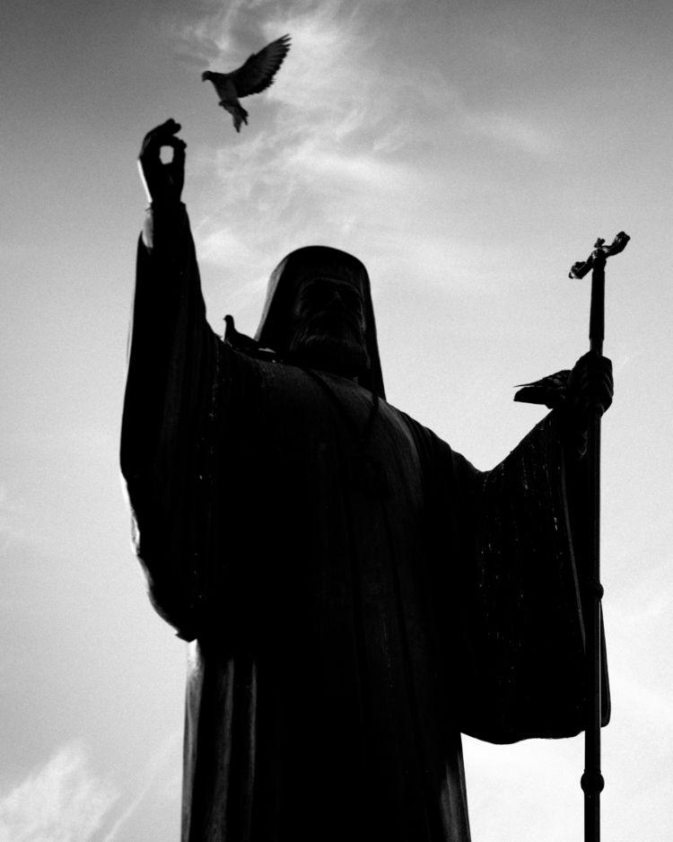 Holy Spirit  - blackandwhite, bnw - leonidas09 | ello