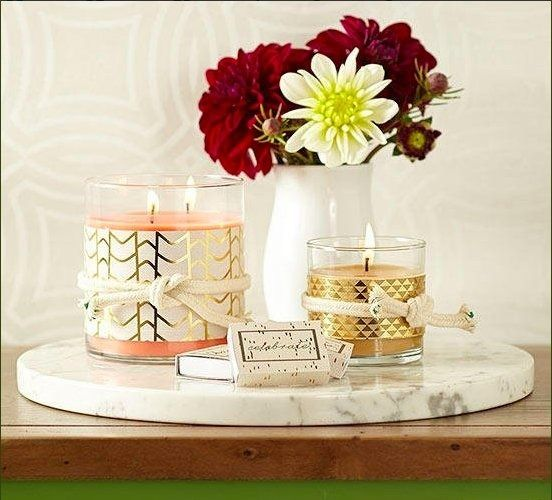 Candles Flowers. great gift hom - plw | ello