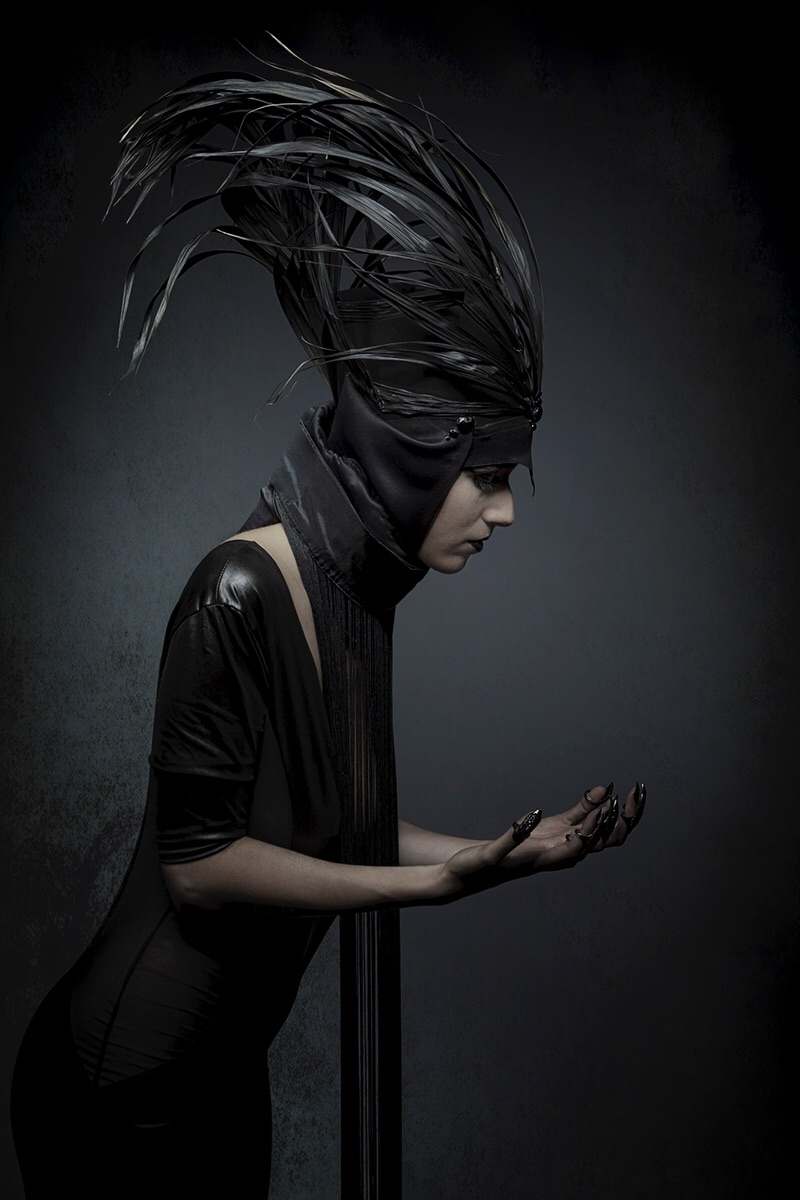"Crow"" — Photographer: Cedric Br - darkbeautymag | ello"