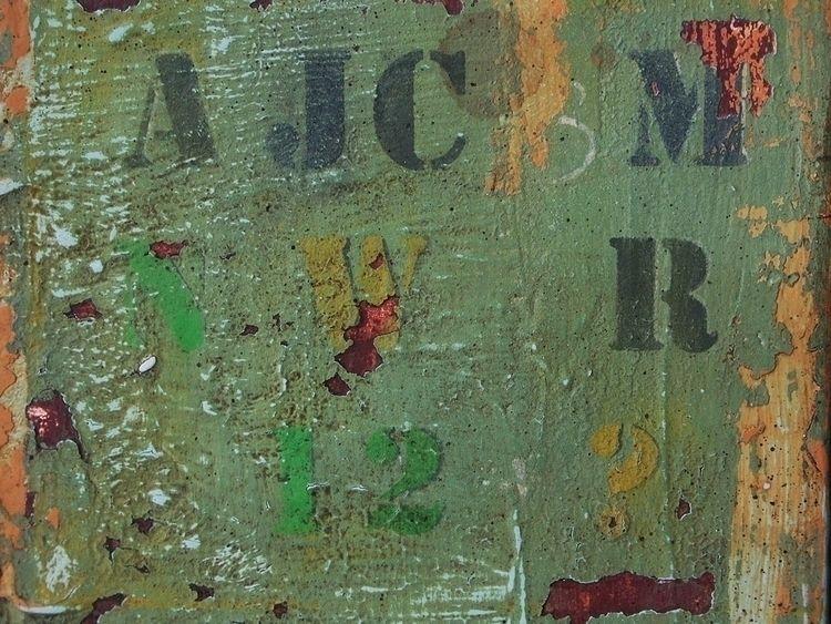 Green grunge texture. Painted m - eadesign | ello