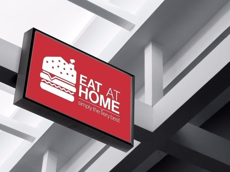 Eat Home // Outdoor Sign - design - sinterclaas | ello