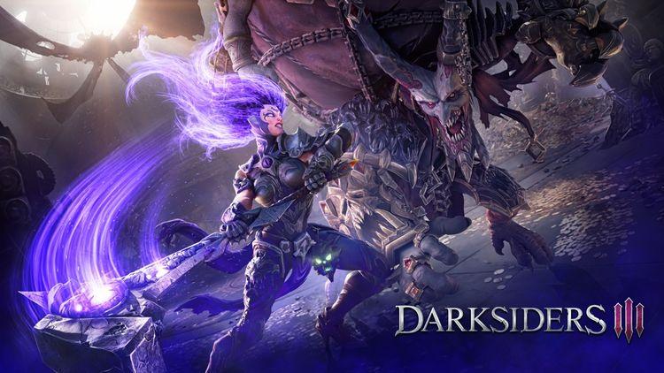 Darksiders III - Force Hollow T - comicbuzz   ello