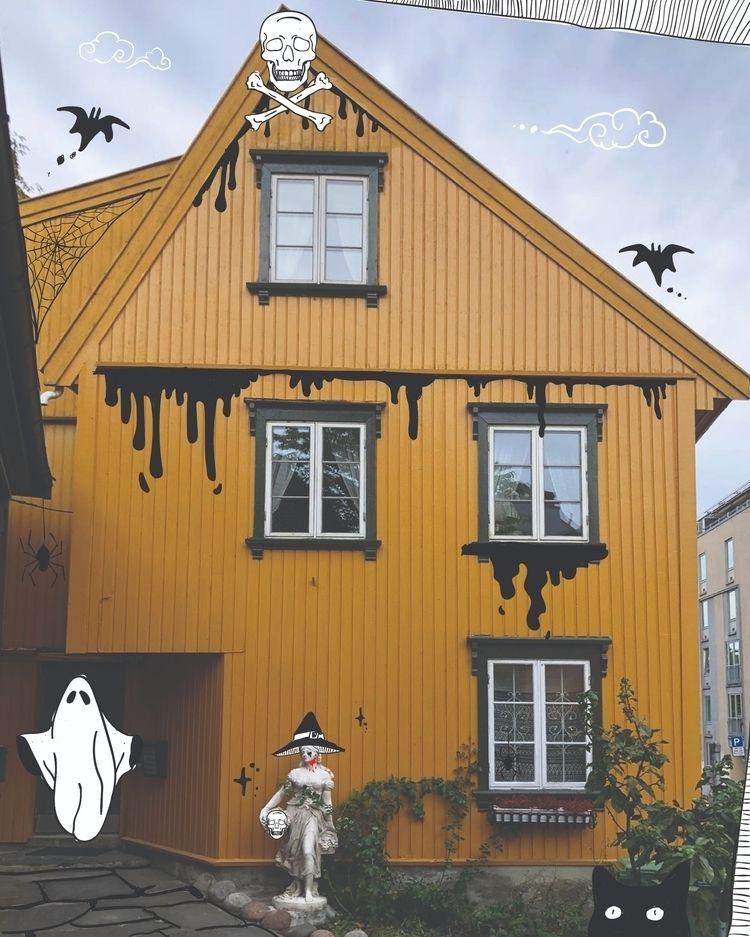 spooooky - halloween, oslo - thatselectric | ello