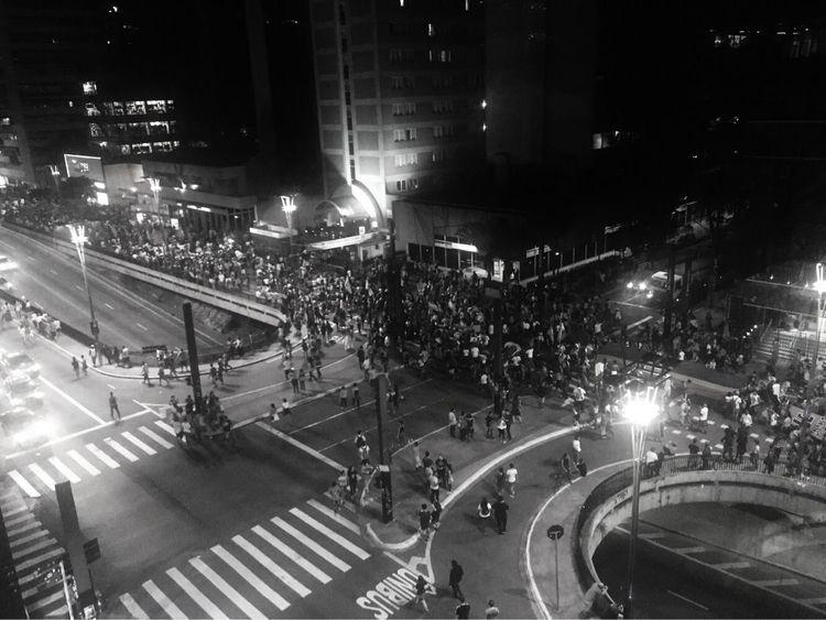 Manifestação Av. Paulista, São  - thiagodias_ | ello