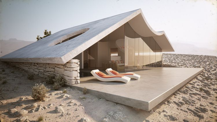 Desert Villa Winestein Vaadia A - thetreemag | ello