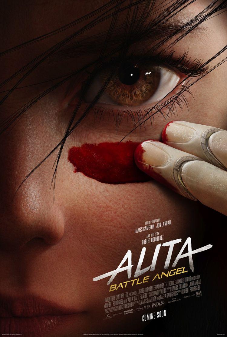 Alita: Battle Angel - Teaser Po - comicbuzz | ello