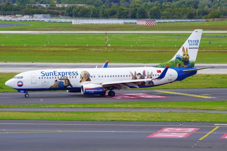 SunExpress, B737, Boeing, PeterHase - brummi | ello