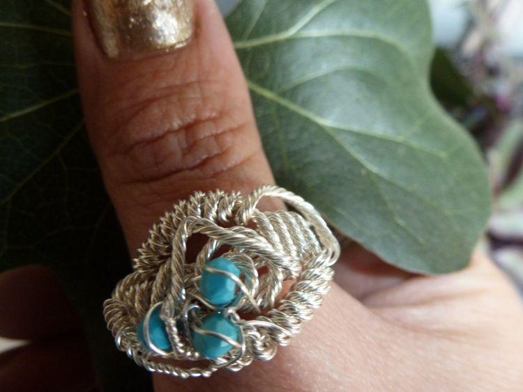 Custom OOAK sterling silver tur - cambriametallic   ello