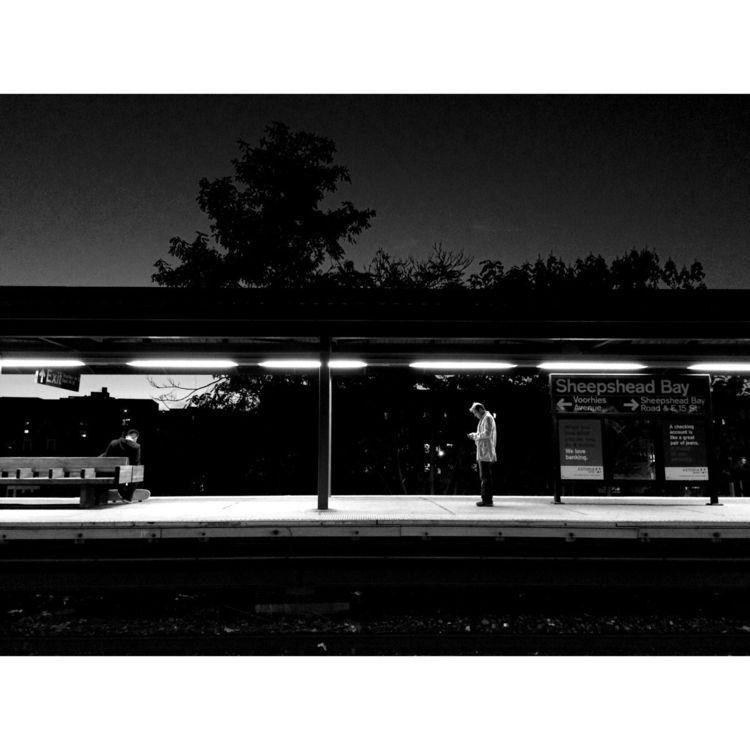 brooklyn, subway, night, photography - robotswan | ello