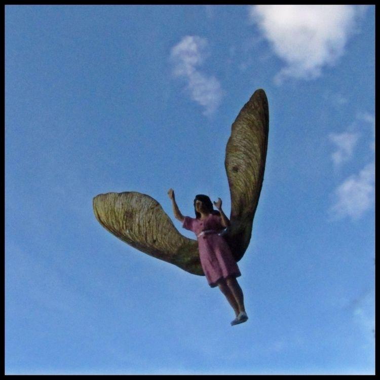'Garden Angel' KrieBeL - kriebelart - kriebel | ello