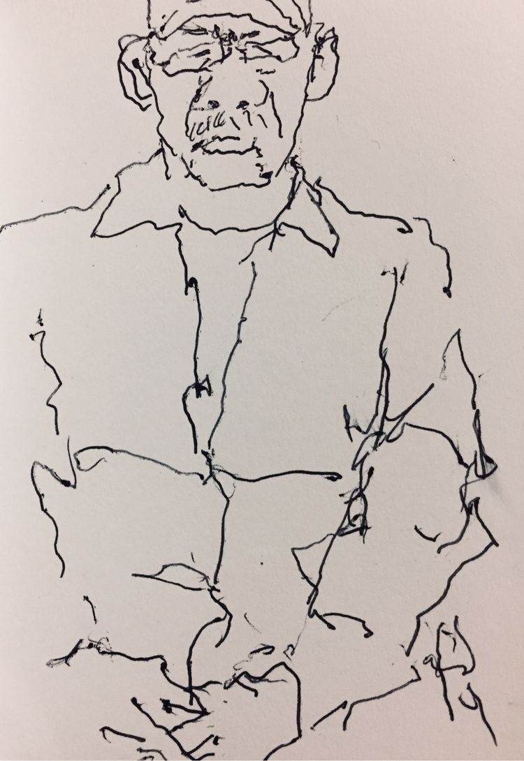 3 - inktober - mind_the_gap_drawing | ello