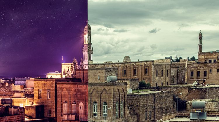 Night Day... Mardin - travel, wanderlust - fatih_yurur | ello