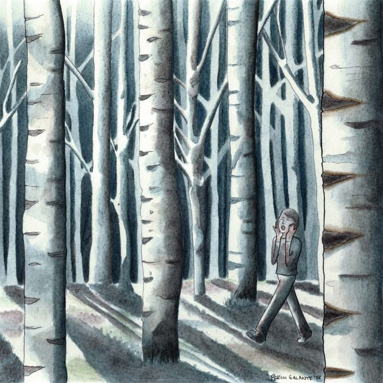 lost woods? commissioned painti - robingalante | ello