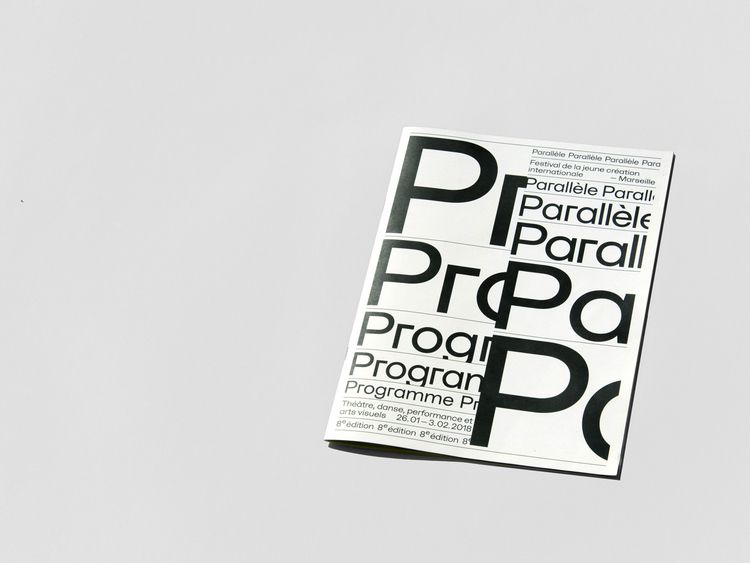 Visual identity Festival Parall - northeastco | ello