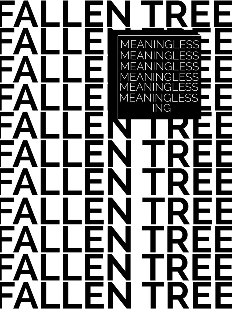 FALLEN TREES (Hey attempt weird - jbkhq | ello