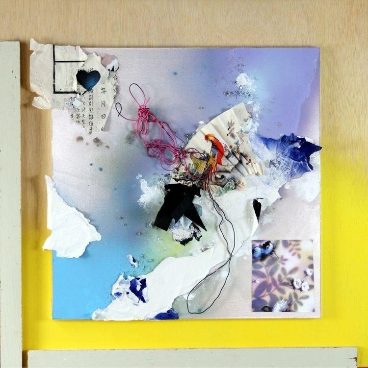 Blue Velvet Heart Henry Esparza - bitfactory | ello