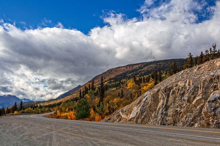 Road Mountain Klondike Highway  - 75centralphotography | ello