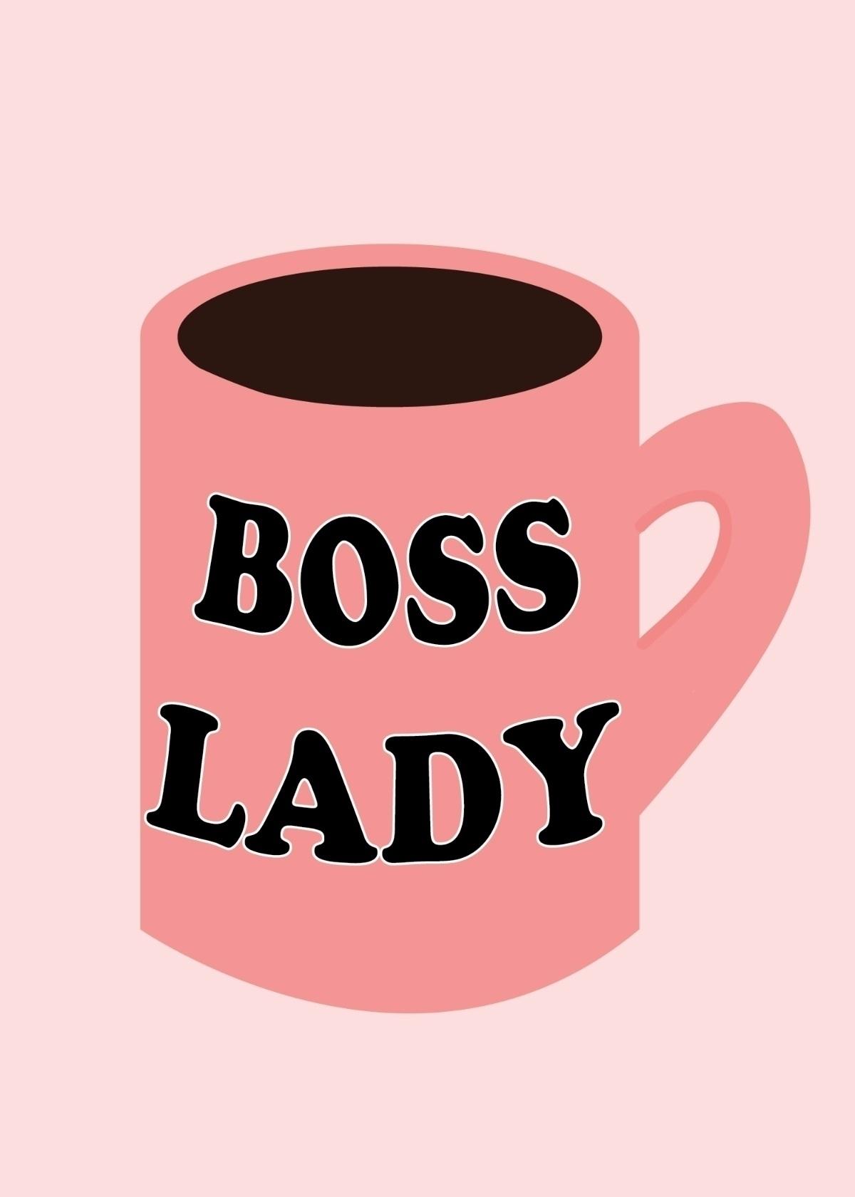 BOSS LADY turn mug?  - bosslady - efstathia_ | ello