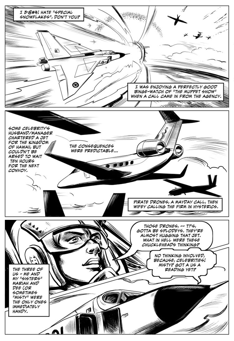 pages Arrowflight story working - amberchrome | ello