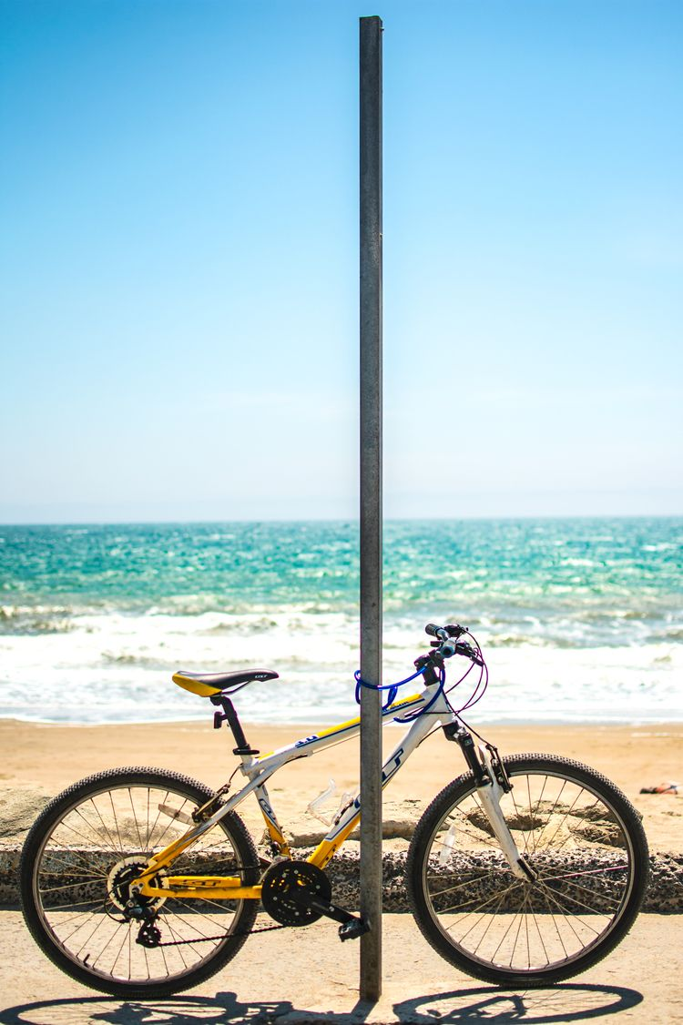 Exp - art, beach, bike, bicycle - davidpinto | ello