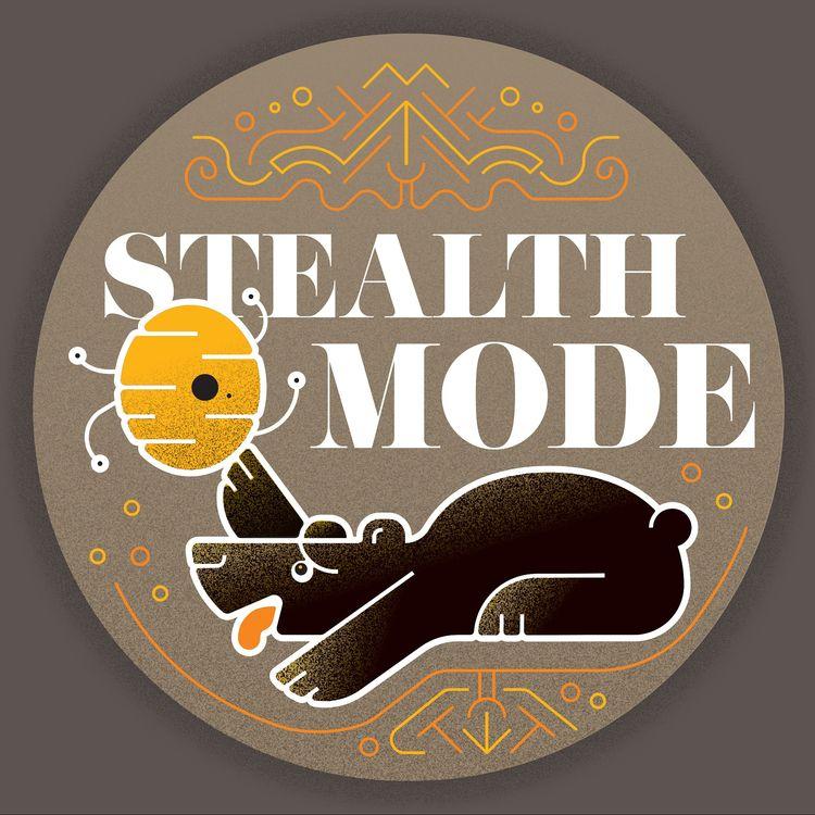 illustration, bear, honey, stealthmode - jessienewhouse | ello