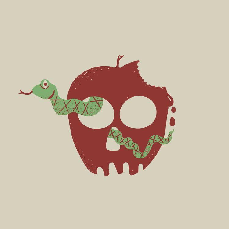 BITE 11/31: CRUEL - INKTOBER, illustration - angchor | ello