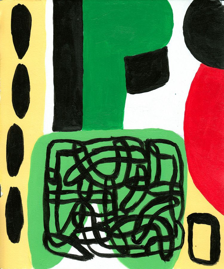 Range Nature - Acrylic Paper - abstractpainting - bwolf23 | ello