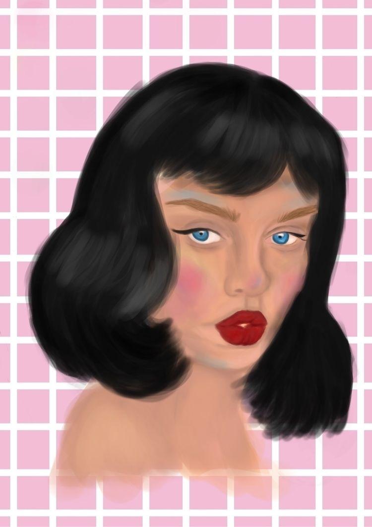 dead! portrait peeps - illustration - artfiqah | ello